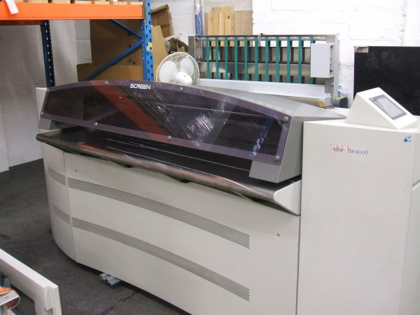 Screen PT-R8000 CtP