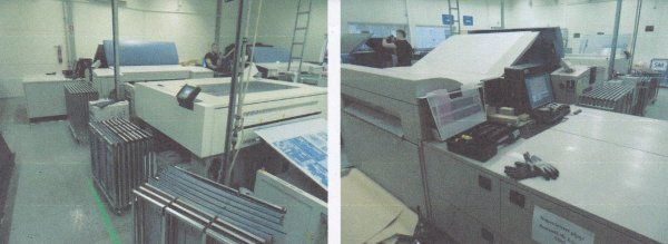 Screen PlateRite 8800III CtP